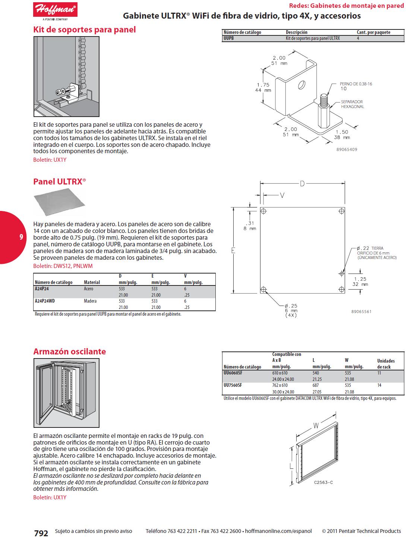 Panel ultrx gabinete ultrx wifi de fibra de vidrio tipo 4x for Paneles de fibra de vidrio