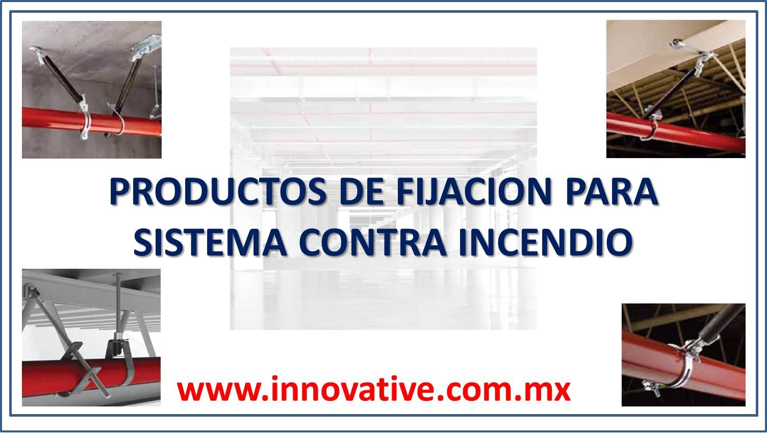 Producto de fijacion para sistema contra incendio - Sistemas de seguridad contra incendios ...