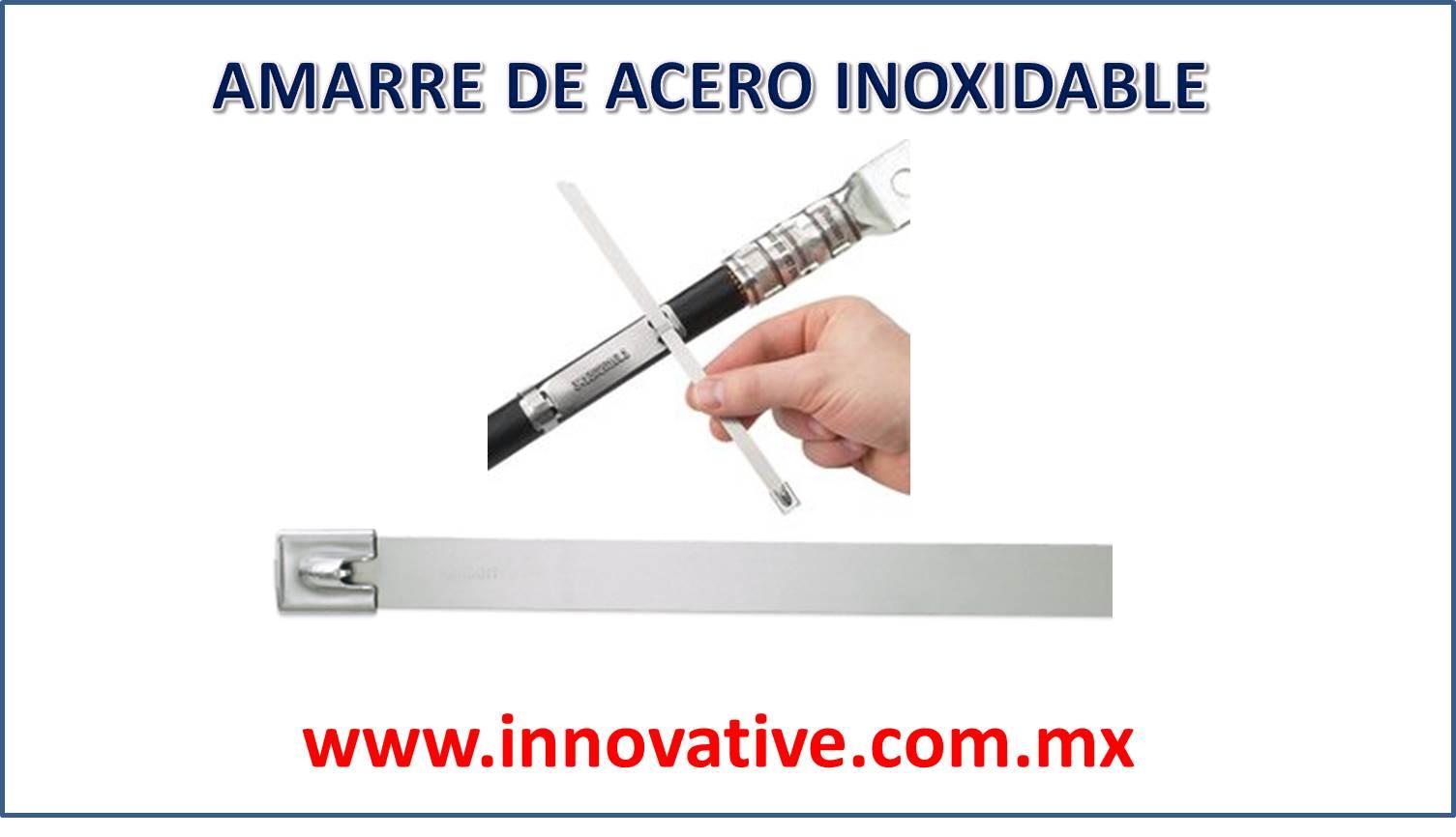 Amarre de acero inoxidable for Brochetas de acero inoxidable