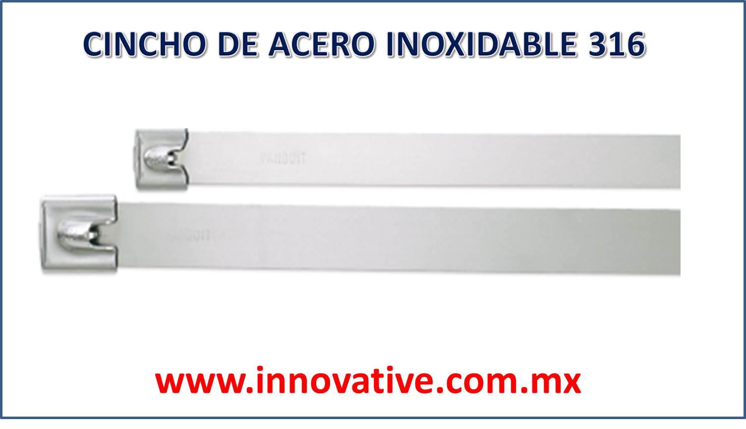 Cincho de acero inoxidable 316 for Brochetas de acero inoxidable