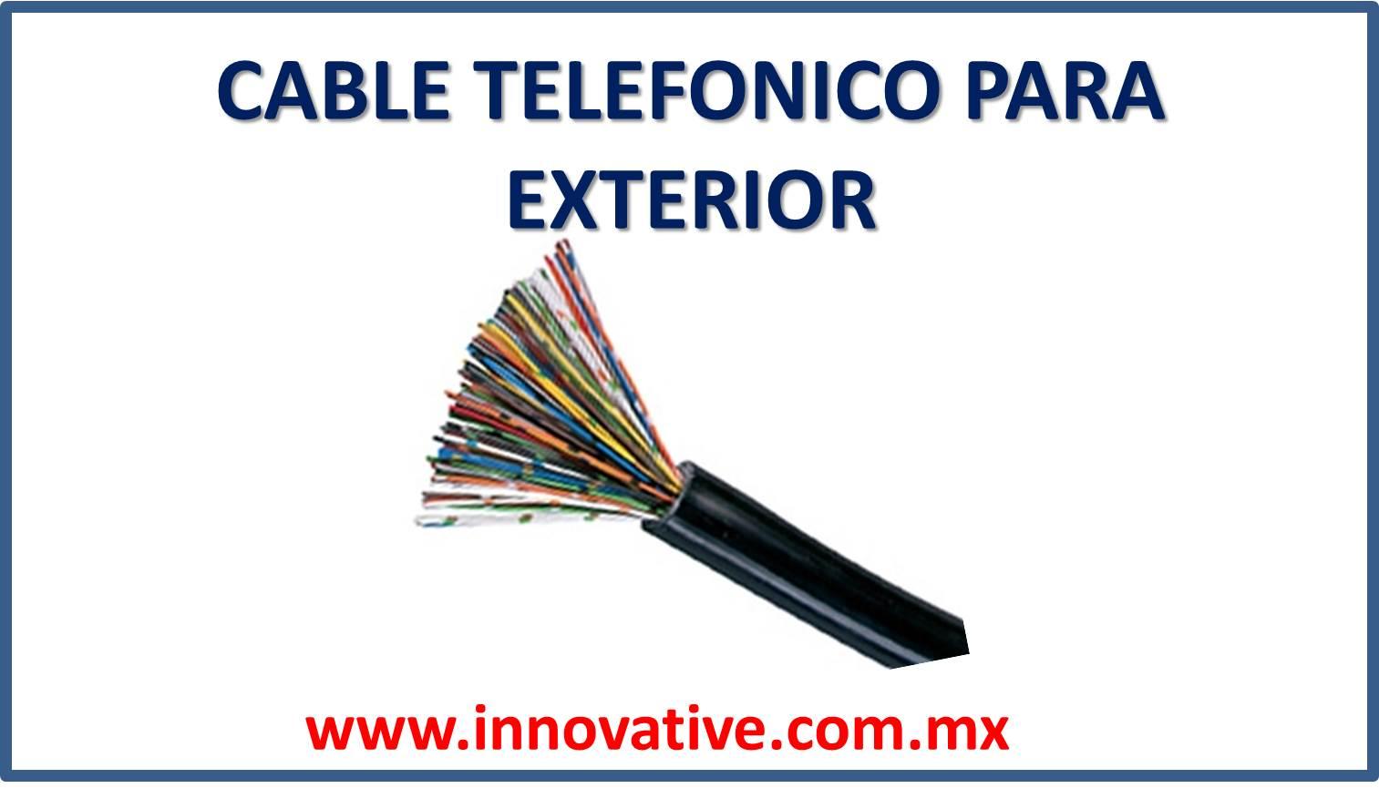Cable telefonico para exterior - Cable para exterior ...