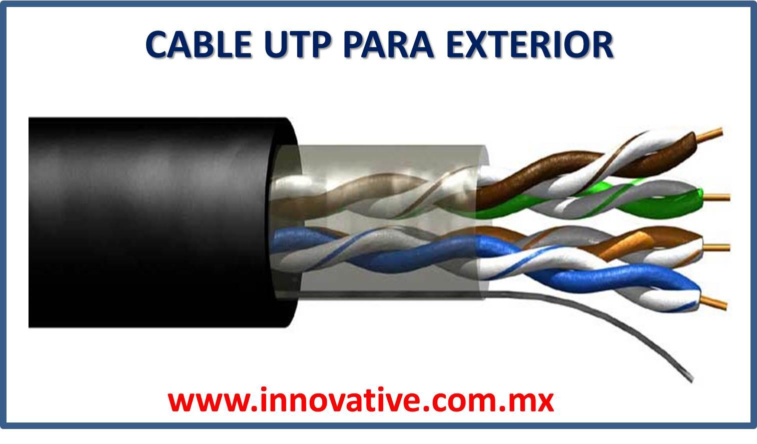 Cable utp para exterior - Cable para exterior ...