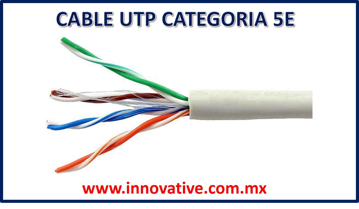 Cable utp categoria 5e 2g sciox Choice Image