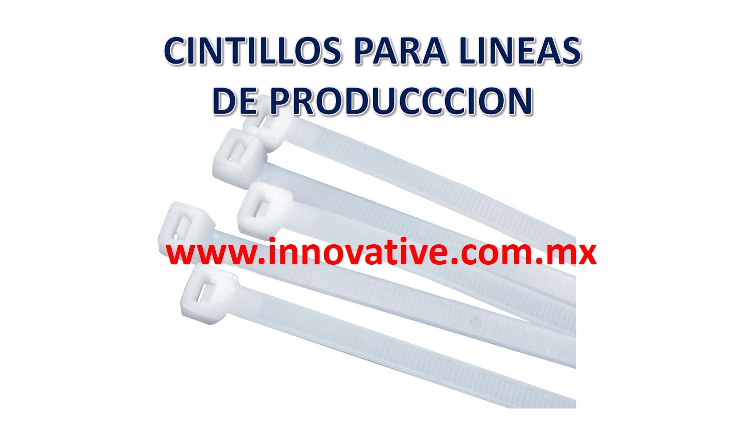 CINTILLOS PARA LINEAS DE PRODUCCCION
